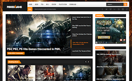 PowerGame Gaming blogger template