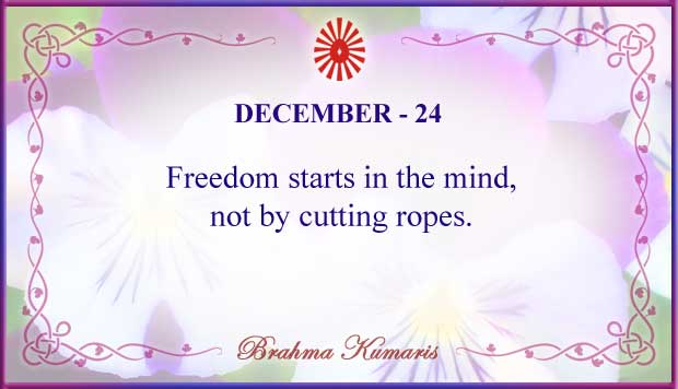 Thought For The Day December 24