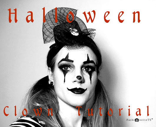 FashionetteTS by Tatjana Svenja: BEAUTY │ HALLOWEEN MAKE-UP TUTORIAL // GANGSTER CLOWN