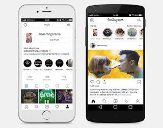 Cara Mengubah Tema Instagram Menjadi Seperti iPhone Tanpa Root