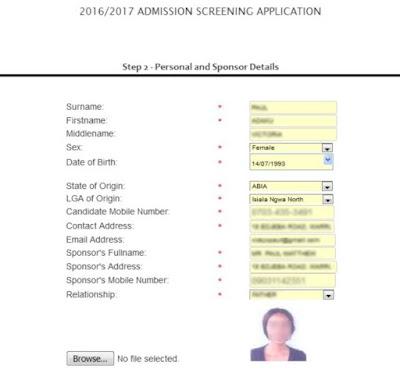 absu-post-utme-applicatuon-form