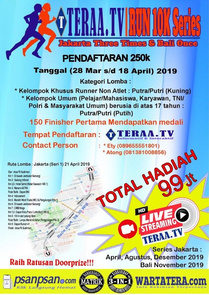 Teraa TV Run 10K Series • 2019