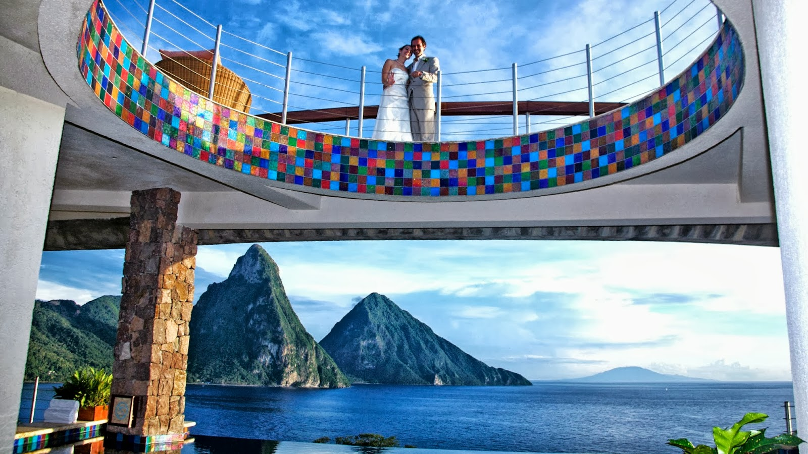Travel My Way: Caribbean, St  Lucia, Soufriere, Jade