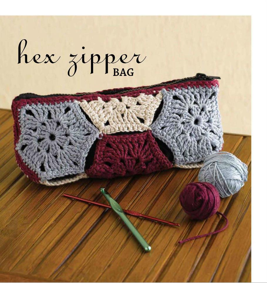 Plumier Trozos Rectangulares Crochet