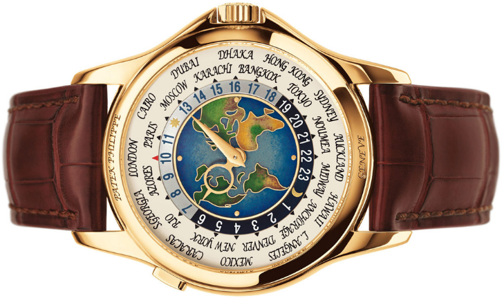 470c7179d Patek Philippe Platinum World Time - Relógios mais caros do mundo