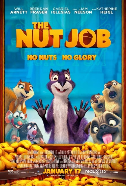 """""""The Nut Job (2014)"""" Movie Review by Glen Tripollo"""