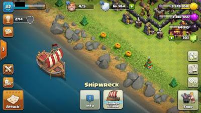 kapal rusak coc
