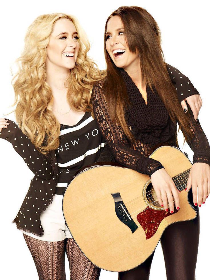 pop stars megan amp liz share fashion amp beauty secrets