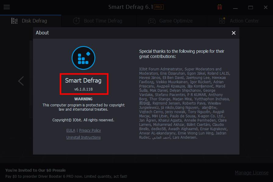 smart defrag 6.1 key 2019