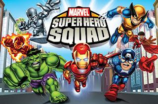 Game Marvel Super Hero Squad ISO PSP Download