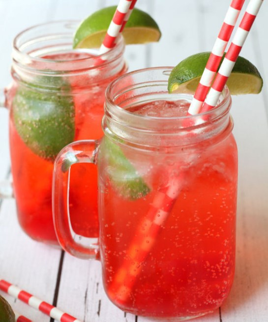 Copycat Sonic Cherry Limeade #summer #drinks