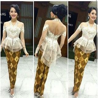 Model Baju Batik Kombinasi Kebaya