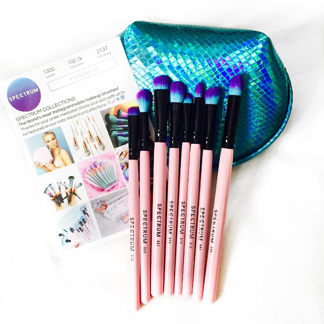 spectrum, spectrum collection, spectrum brushes, unicorns, makeup brushes,