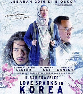 OST (Original Soundtrack) Jilbab Traveler Love Sparks in Korea