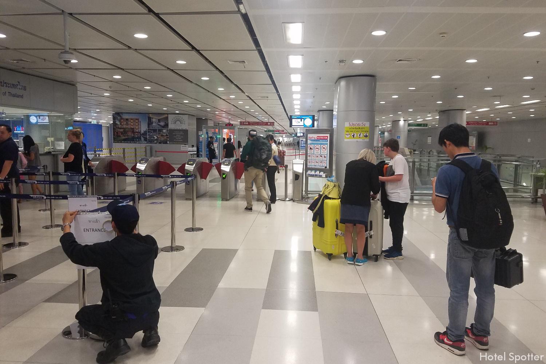 Bangkok, Tajlandia - informacje praktyczne i porady - airport rail link