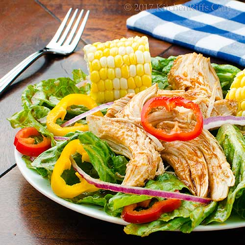 Barbecue Chicken Salad