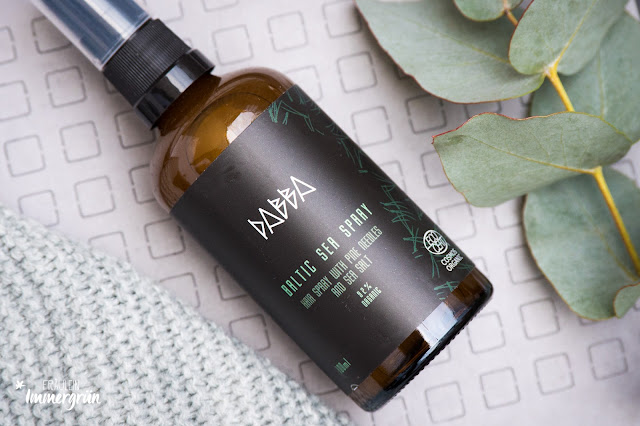 Vegane und reizfreie Naturkosmetik aus Lettland: Dabba Cosmetics Baltic Sea Spray