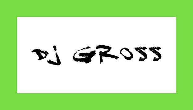 Font DJ Gross Download