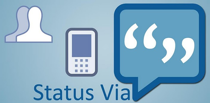 Update Facebook Status via any device