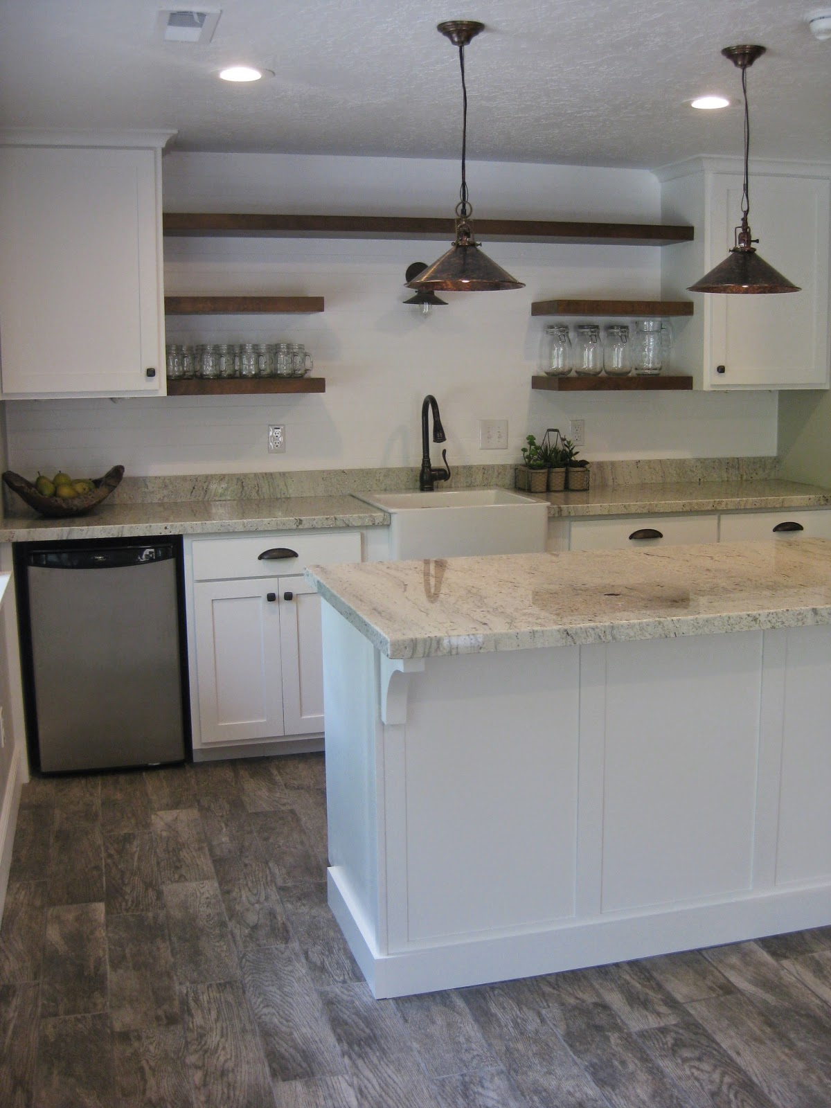 TDA decorating and design Basement Kitchen Before  After