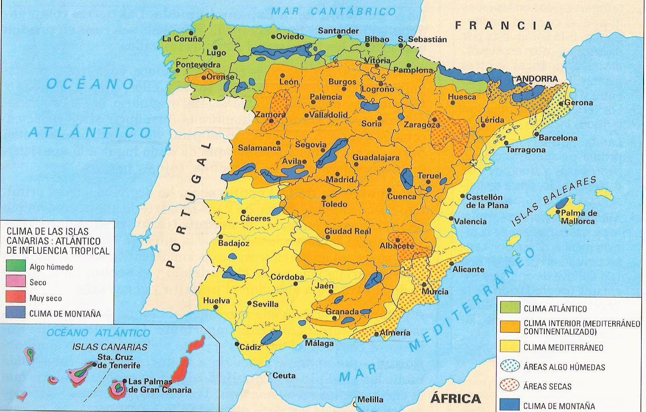 península ibérica mapa mundi