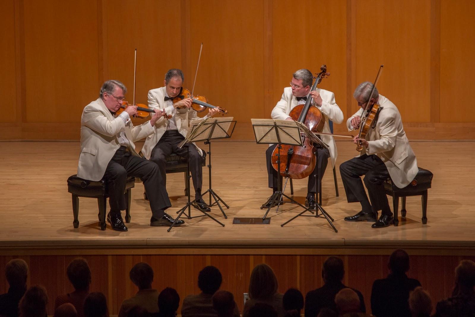 Northwest Reverb: Emerson String Quartet with cellist Paul Watkins