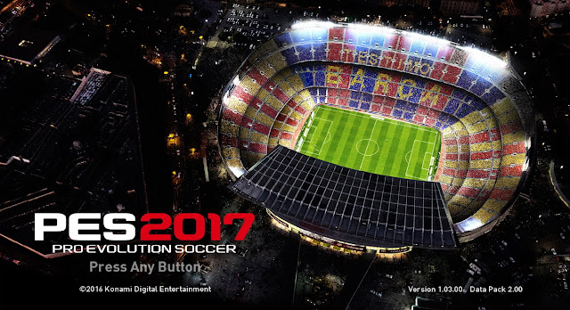 PES 2017 PC Data Pack 2.0 and Patch 1.03 For CPY Version
