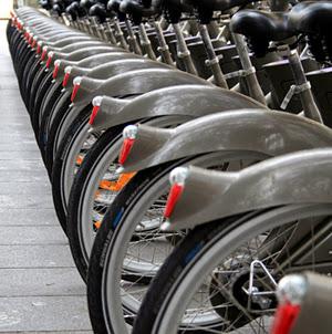 Vélo à louer dans les villes