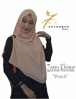 ZENNA KHIMAR PEACH