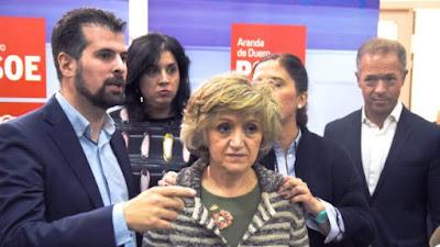 Carcedo, ministra, PSOE, dietas, alojamiento