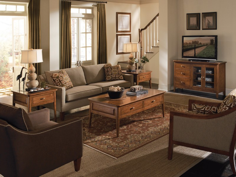 Under Desk Storage In The Living Room Home Design And