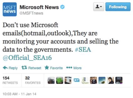 microsoft twitter hacked