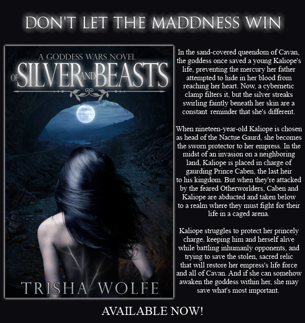 Book Blitz: Of Silver and Beasts by Trisha Wolfe *Excerpt & Giveaway*