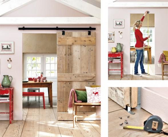 Rosa's Inspiration : DIY idea for your interior: Sliding doors