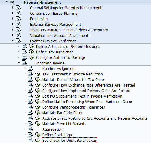 Duplicate Invoice Check in SAP MM | SAP Configuration, SAP HANA Training