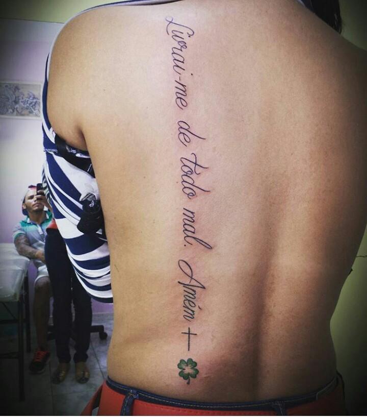 Livrai Me De Todo Mal Amem Tatuagem Bx57 Ivango
