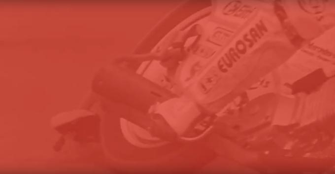 Egy őrangyal kisérte a hatalmas bukás során ! Brutális képsorok (videó)