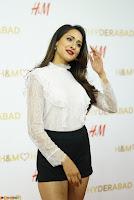 Pragya Jaiswal in lovely Black Mini Skirt and White Transparent Shirt ~  Exclusive 051.JPG