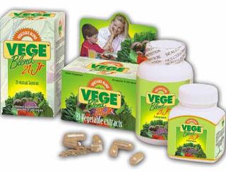VegeBlend 21 Junior untuk mengatasi anak susah makan