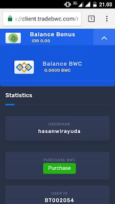 Menjadi Kaya Dengan 10 Coin Dari BWTrade