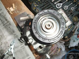 Electroiman del compresor aire acondicionado Toyota Corolla