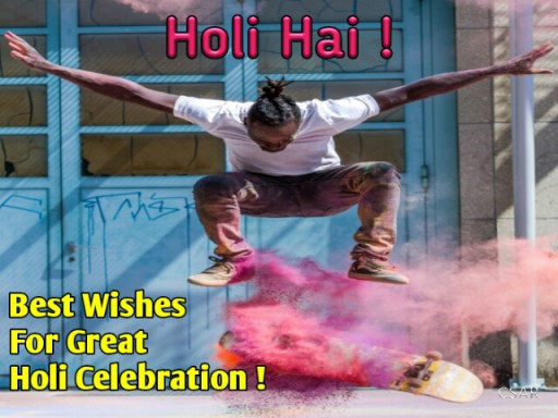 holi greetings 2019