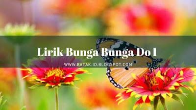 Lirik Bunga Bunga Do I