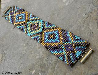 интересные браслеты купить украшения из бисера в этно стиле