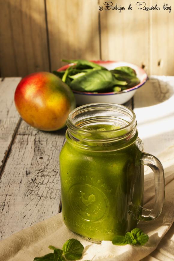 El jugo verde perfecto. Green smoothie
