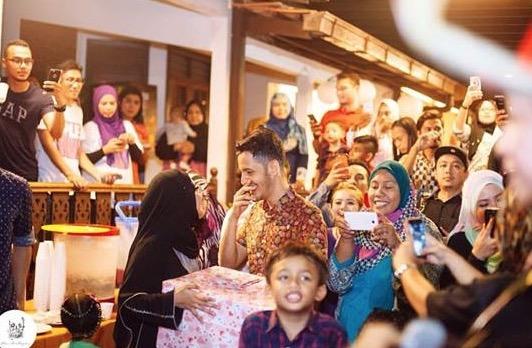 Hadiah Hari Jadi Dato Aliff Syukri Buat Isterinya, Beg Bernilai RM300,000