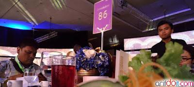 Gala Dinner Meja 86