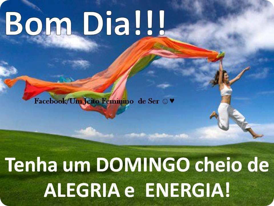 Frases De Bom Domingo: - Frases Para Facebook