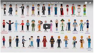 أسماء الوظائف والمهن في اللغة الإنجليزية مع الصور والفيديو