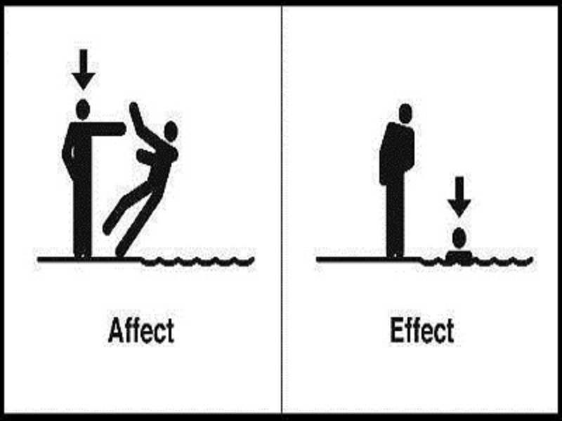 Learn English Today: What's The Difference? AFFECT vs EFFECT